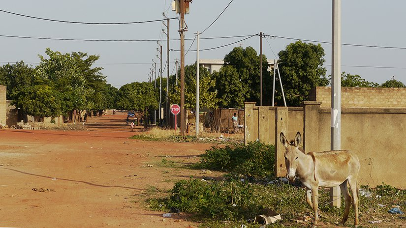 The streets of Bobo-Dioulasso.